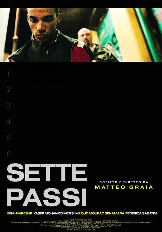 React Short Film Festival 2019 corto SETTE_PASSI_LOCANDINA