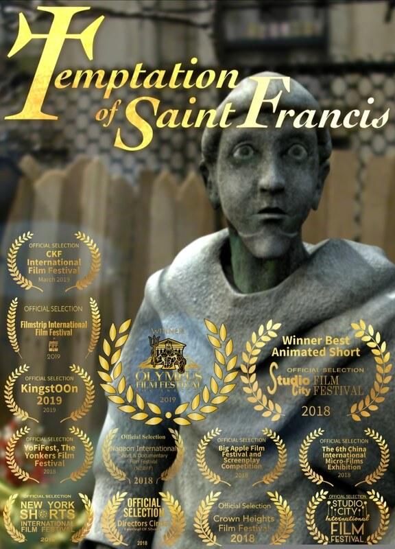 React Short Film Festival 2019 corto Temptation Of Saint Francis