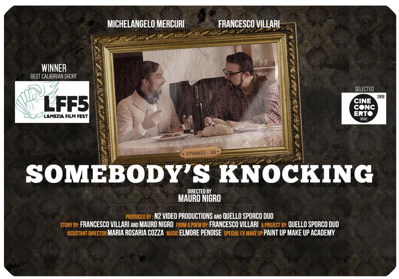 React Short Film Festival 2019 corto somebodysknocking